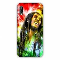 Coque Huawei Honor 8A Bob Marley Color