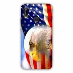 Coque Huawei Honor 8A Amerique USA Aigle