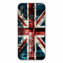Coque Huawei Honor 8A Angleterre UK Jean's