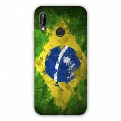 Coque Huawei Honor 8A Bresil texture