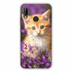 Coque Huawei Honor 8A Chat Violet