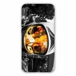 Coque Huawei Honor 8A pompier casque feu