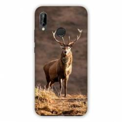 Coque Huawei Honor 8A chasse chevreuil Blanc