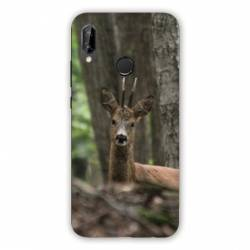 Coque Huawei Honor 8A chasse chevreuil Bois