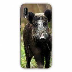 Coque Huawei Honor 8A chasse sanglier bois