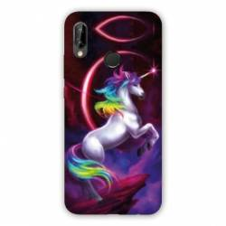 Coque Huawei Honor 8A Licorne Arc en ciel