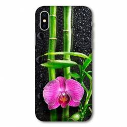 Coque Wiko Y60 orchidee bambou