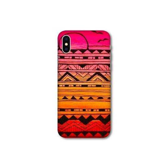Coque pour Wiko Y60 motifs Aztec azteque soleil