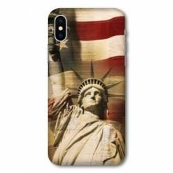 Coque Wiko Y60 Amerique USA Statue liberté