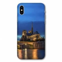 Coque Wiko Y60 France Notre Dame Paris night
