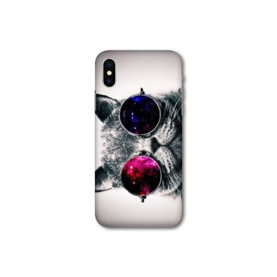 Coque pour Wiko Y60 Chat Fashion