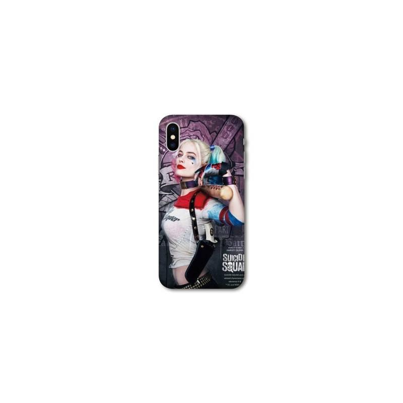 Coque Wiko Y60 Harley Quinn Batte