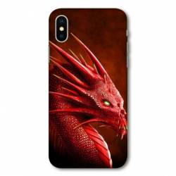 Coque Wiko Y80 Dragon Rouge