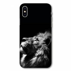 Coque Wiko Y80 roi lion