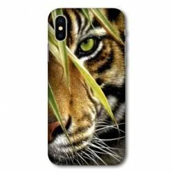 Coque Wiko Y80 œil tigre