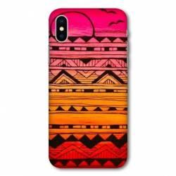 Coque Wiko Y80 motifs Aztec azteque soleil