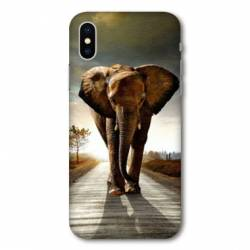 Coque Wiko Y80 savane Elephant route