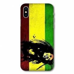 Coque Wiko Y80 Bob Marley Drapeau