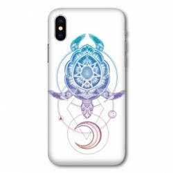 Coque Wiko Y80 Animaux Maori tortue color