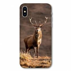 Coque Wiko Y80 chasse chevreuil Blanc