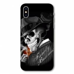 Coque Wiko Y80 tete de mort family business