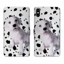 Housse cuir portefeuille Huawei Y5 (2019) Chien dalmatien