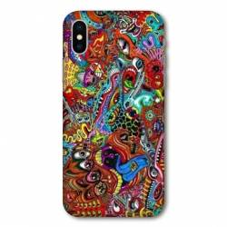 Coque Huawei  Y5 (2019) Psychedelic Yeux