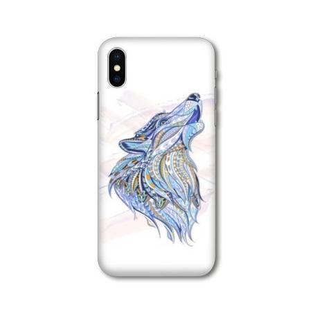 Coque Pour Huawei Y5 (2019) Ethniques Loup Color