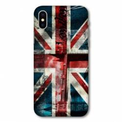 Coque Huawei  Y5 (2019) Angleterre UK Jean's