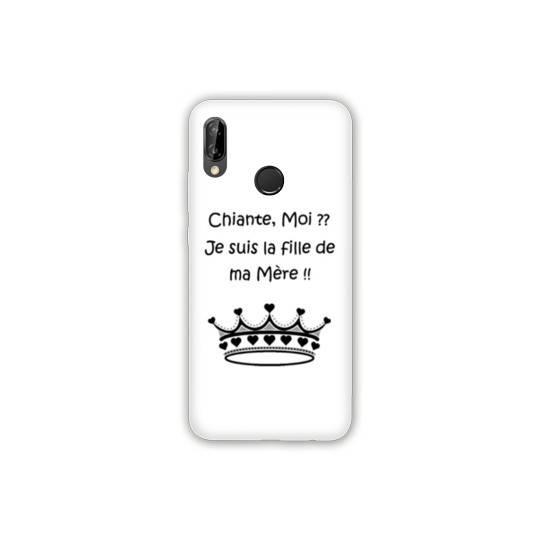 Coque pour Samsung Galaxy A20e Humour Moi chiante