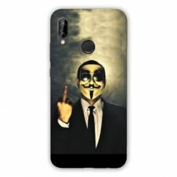 Coque Samsung Galaxy A20e Anonymous doigt