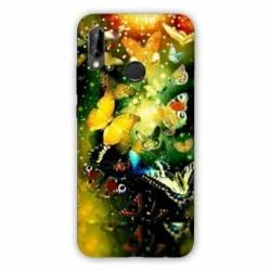 Coque Samsung Galaxy A20e papillons papillon jaune