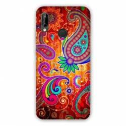 Coque Samsung Galaxy A20e fleur psychedelic
