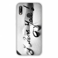 Coque Samsung Galaxy A20e I love you larme B