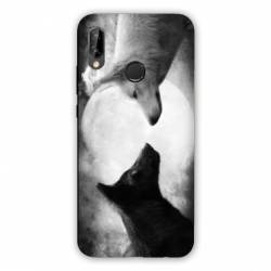 Coque Samsung Galaxy A20e Loup Duo