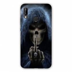 Coque Samsung Galaxy A20e tete de mort Doigt