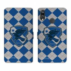 Housse cuir portefeuille Samsung Galaxy A20e WB License harry potter ecole Ravenclaw