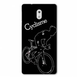 Coque Nokia 1 Plus Cyclisme Ombre blanche