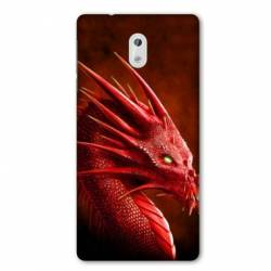 Coque Nokia 1 Plus Dragon Rouge