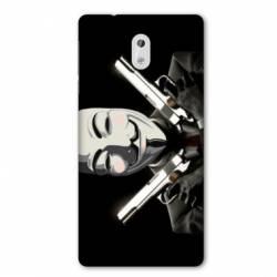 Coque Nokia 1 Plus Anonymous Gun