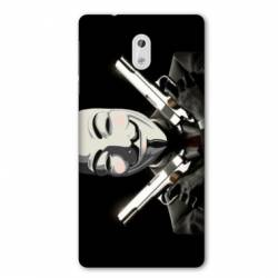 Coque Nokia 1 Plus Anonymous Gun