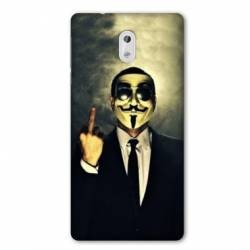 Coque Nokia 1 Plus Anonymous doigt