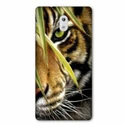 Coque Nokia 1 Plus œil tigre