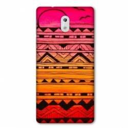 Coque Nokia 1 Plus motifs Aztec azteque soleil