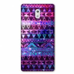 Coque Nokia 1 Plus motifs Aztec azteque violet