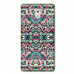 Coque Nokia 1 Plus motifs Aztec azteque rose