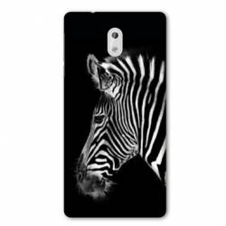 Coque Nokia 1 Plus savane Zebra