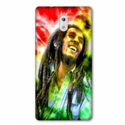 Coque Nokia 1 Plus Bob Marley Color