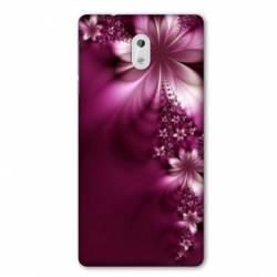 Coque Nokia 1 Plus fleur violette montante