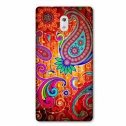 Coque Nokia 1 Plus fleur psychedelic